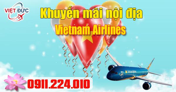 đặt vé khuyến mãi Vietnam Airlines các chặng bay ngày 28/02/2017