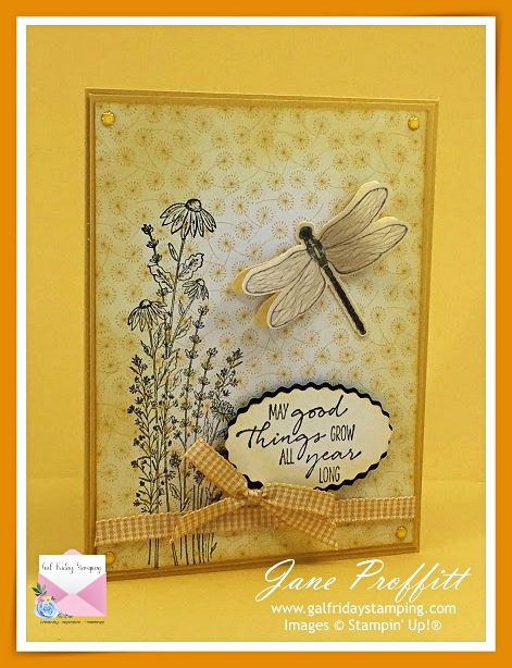 Dragonfly Garden Bundle from Stampin' Up!