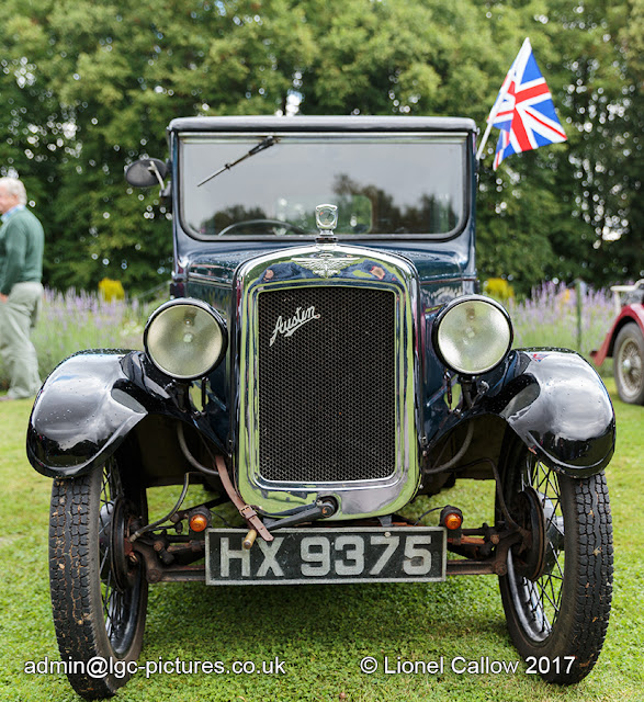Front of the Austin Seven HX 9375