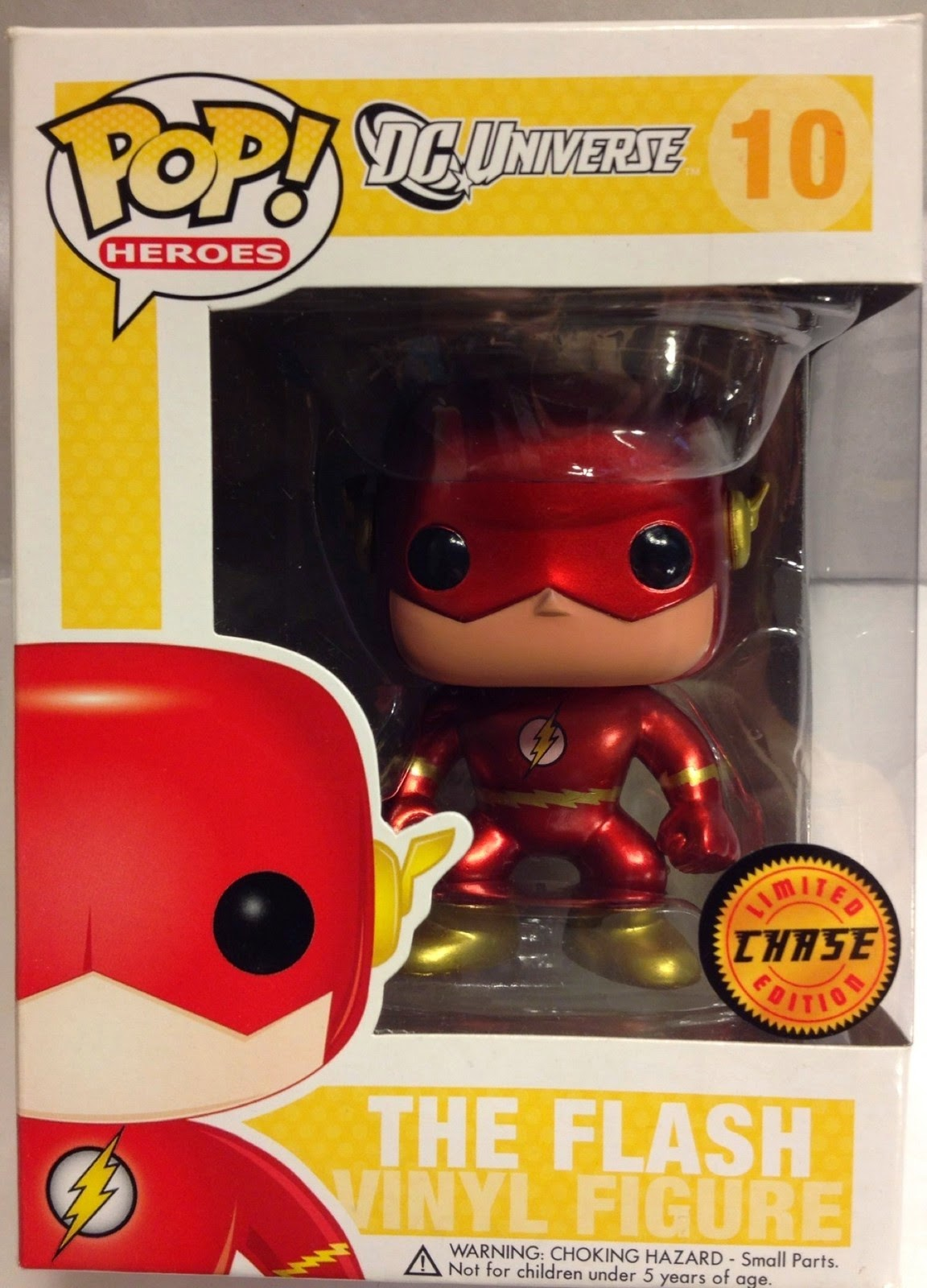 Pop! Chase de The Flash (Pintura metálica)