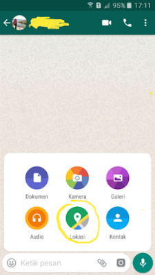 Cara Mengirim Lokasi Melalui WhatsApp