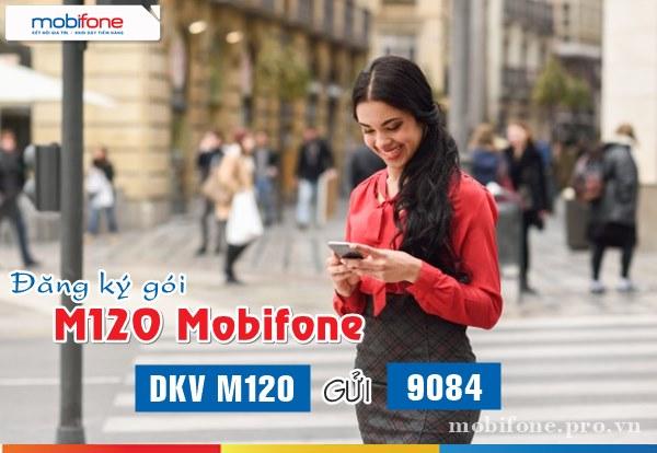 Đăng ký gói M120 Mobifone nhận 3GB dung lượng