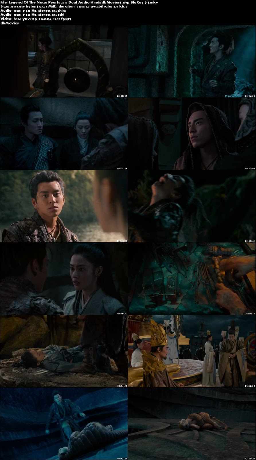screen shot Legend of the Naga Pearls 2017 Full Movie Download Dual Audio
