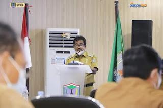 Pemko Binjai Gelar Rapat Koordinasi Dengan Forkopimda Bahas Anggaran Pemulihan Ekonomi Nasional dan Penanggulangan Covid-19