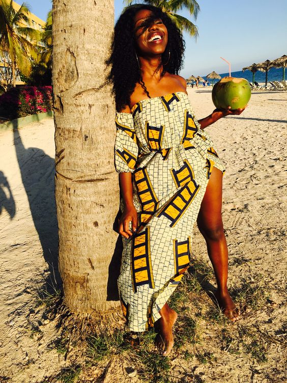 The Ankara dresses fashion industry in the Republic of Ghana is significantly growing day ✘ 39 Amazing Ankara Dresses Attires Styles For African American Women