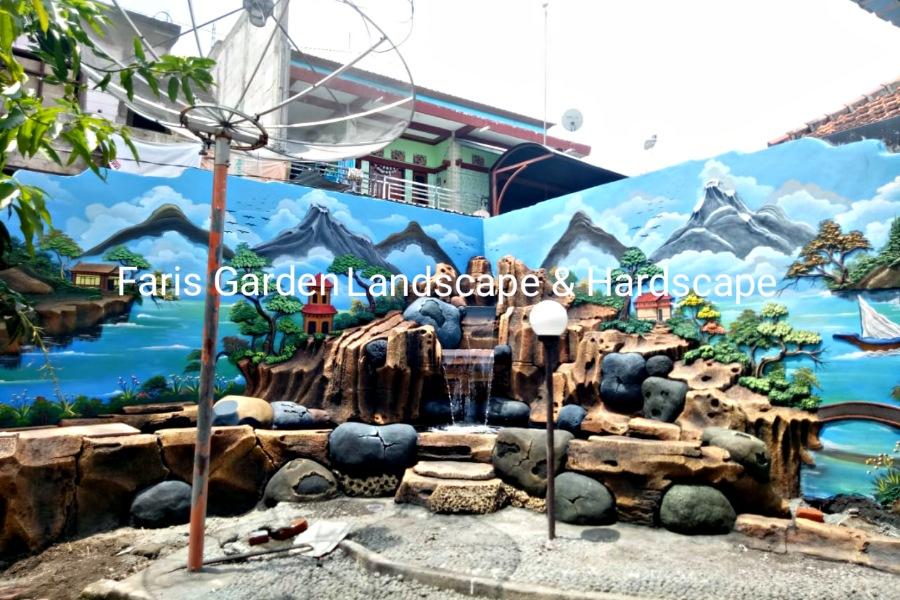 Jasa Pembuatan Kolam Tebing Air Terjun Jombang - Tukang Relief Tebing Dekorasi Di Jombang
