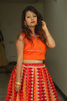 Shubhangi Bant in Orange Lehenga Choli Stunning Beauty ~  Exclusive Celebrities Galleries 073.JPG