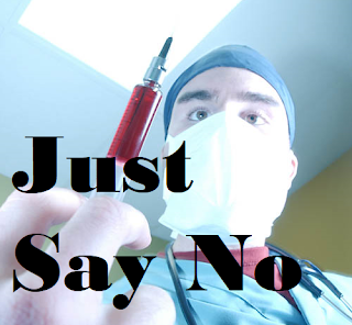 Self-Replicating, Self-Spreading COVID-19 Vaccines Assure That EVERYONE Gets It - Whether They Want It Or Not! (image: Just Say No!)