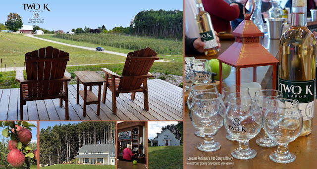 Annie Lang's photos of Two K Cidery and Winery in Suttons Bay Michigan