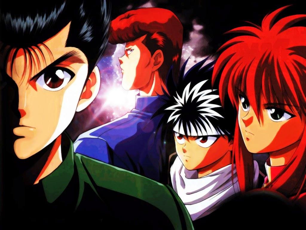 Yu Yu Hakusho Characters, Yu Yu Hakusho, Kuwabara, Kurama, Hiei, Yusuke, Ghostfighter