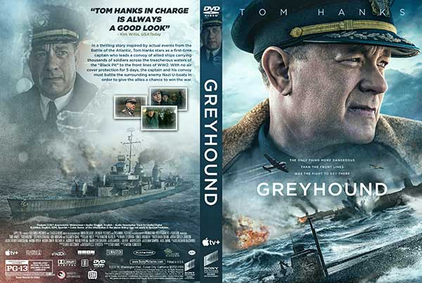 Greyhound (2020) DVD Cover