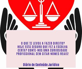 Direito - só amor, dinheiro nada!