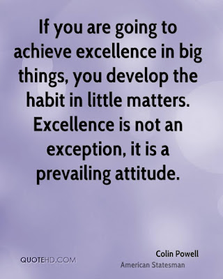 Excellence Quotes Colin Powell