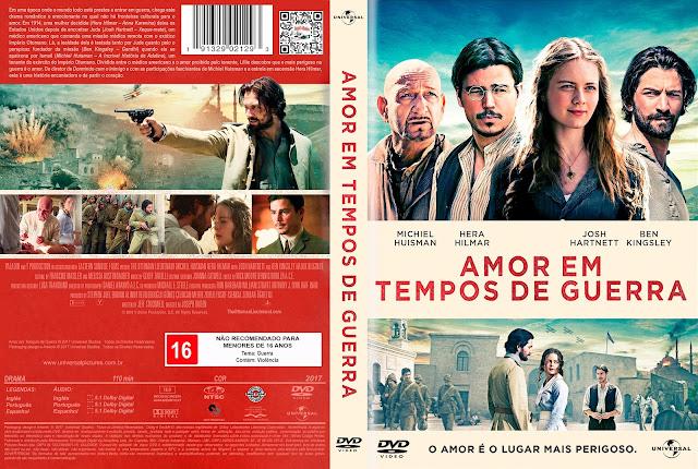 Capa DVD Amor em Tempos de Guerra [Custom]