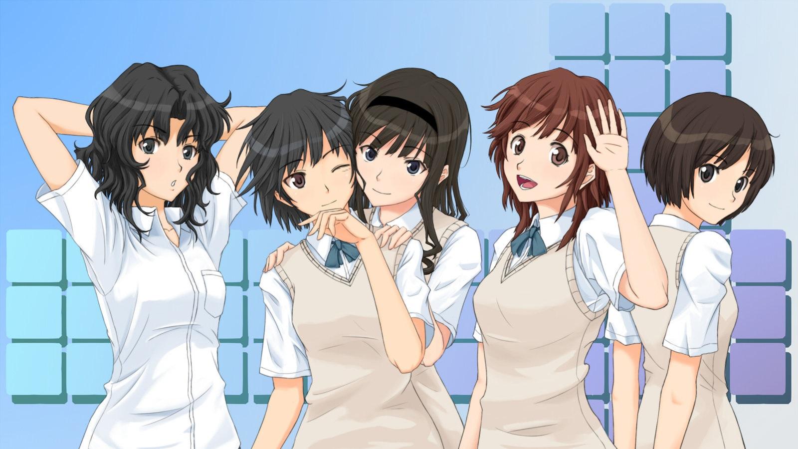 Amagami SS wallpaper anime