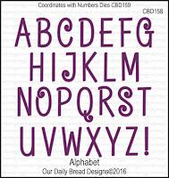 ODBD Custom Alphabet Dies