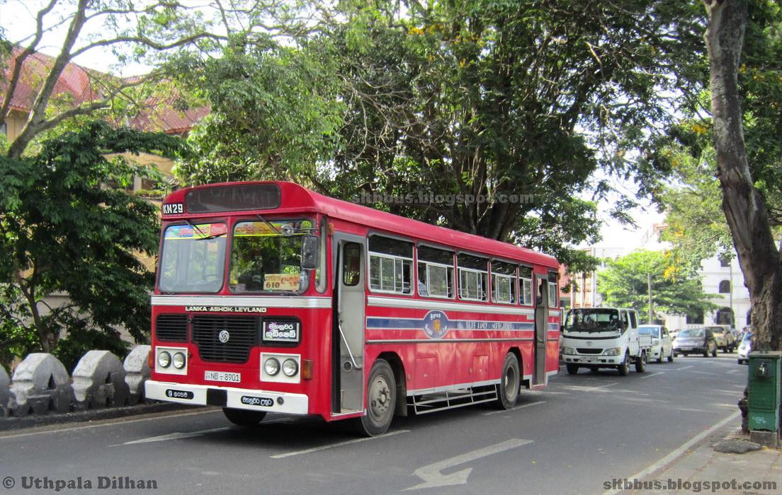 Ashok Leyland Viking Turbo 42 Seater Bus From Sltb Kandy North Depot