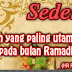 Kekuatan Pemberian Amal di Bulan Ramadhan.