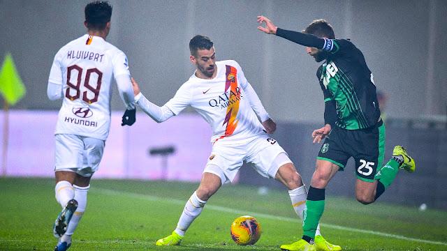 ساسولو يصعق روما في الدوري الايطالي