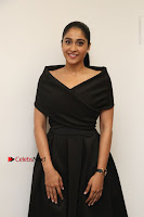 Actress Regina Candra Pos in Beautiful Black Short Dress at Saravanan Irukka Bayamaen Tamil Movie Press Meet  0016.jpg