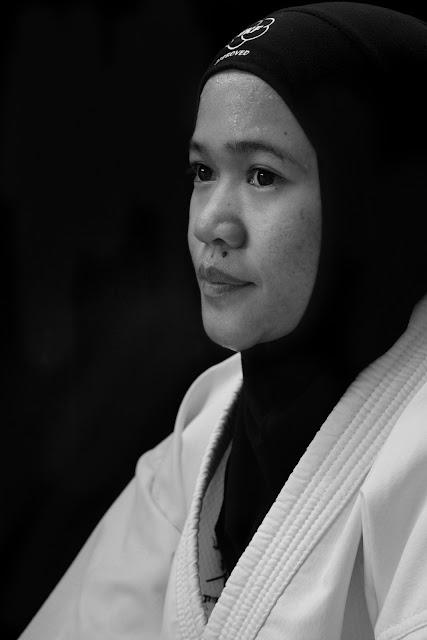 Black and White Photography, Karateka of Aceh, Pra PORA Aceh Tengah, PORA, Gentala Shentong,