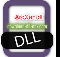 ArcCon.dll download for windows 7, 10, 8.1, xp, vista, 32bit