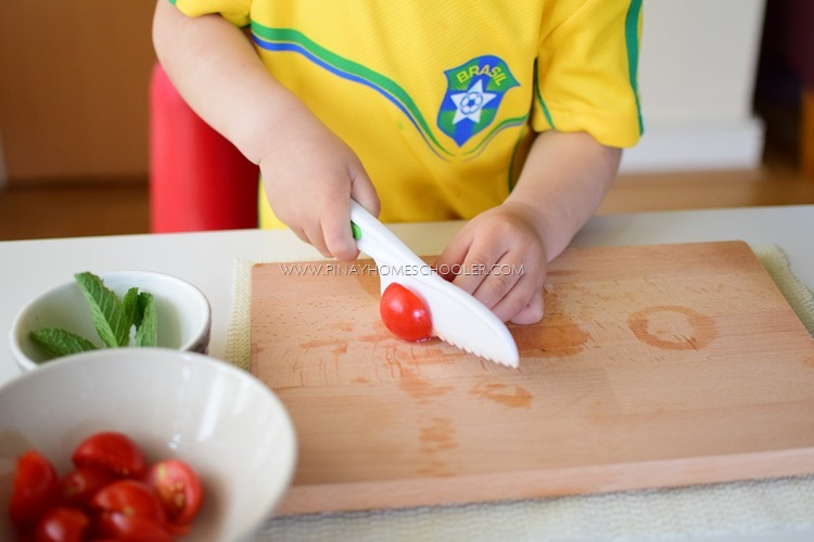 Simple Food Preparation and Recipe Ideas for Kids: BRUSCHETTA