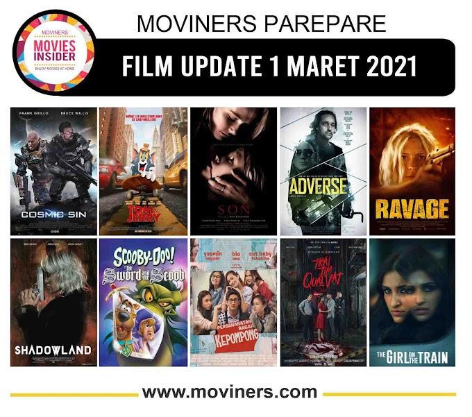 FILM UPDATE 1 MARET 2021