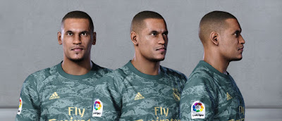 PES 2020 Faces Alphonse Areola by Owen31