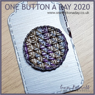 One Button a Day 2020 by Gina Barrett - Day 74 : Grid