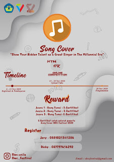 Song Cover Contest Lomba Meng-cover Lagu