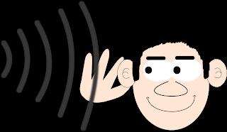 اختبار السمع من خلال النظر في العين