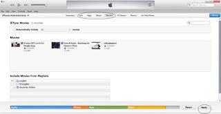 Cara Memasukkan Lagu atau Video ke iPhone, iPad dan iPod menggunakan itunes -3