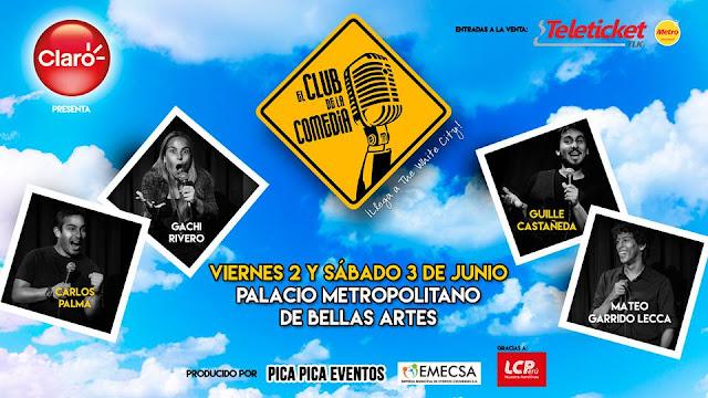El club de la comedia Arequipa