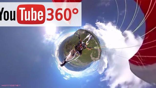 فيديوهات بزاوية 360 درجة