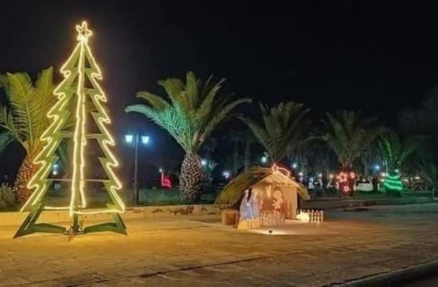 Μελωδίες και λάμψη από Χριστουγεννιάτικα στολίδια σε όλο τον Δήμο Ερμιονίδας