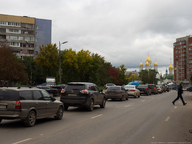 Карманов, для поворота налево, не предусмотрено в городе