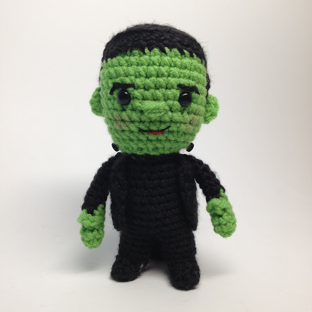 Free Amigurumi Patterns Halloween : CRAFTYisCOOL: Free Halloween Amigurumi Pattern: Little ...
