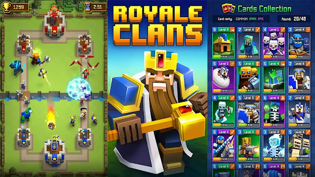 Royale Clans Clash of Wars