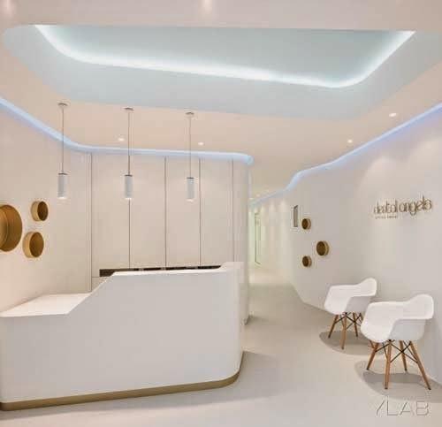 Modern Dental Office Interior Design By YLAB Arquitectos