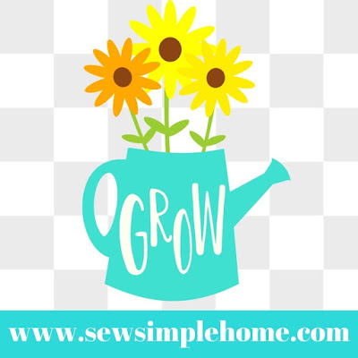 watering can SVG cut file.