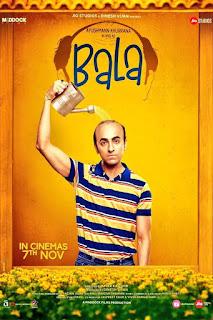 Bala (2019 film) Hindi Full Movie DVDrip Download Kickass