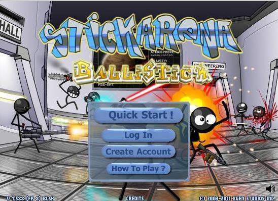 Stick Arena Ballistick 117
