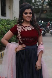 Actress Aathmika in lovely Maraoon Choli ¬  Exclusive Celebrities galleries 002.jpg
