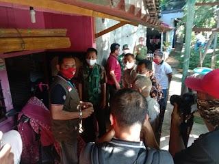 Babinsa Kelurahan Serengan Pantau Pemulangan Wargae Usai Jalani Masa Karantina
