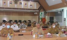 Hadiri Vidcon, Bupati Berharap Bantuan Berbagai Pihak Untuk Wujudkan Food Estate Kabupaten Ketapang