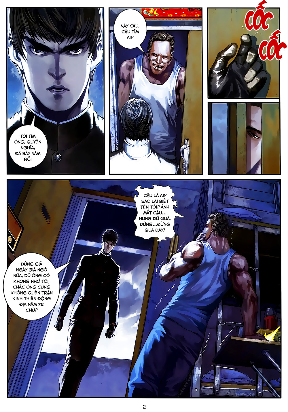 Quyền Đạo chapter 5 trang 2
