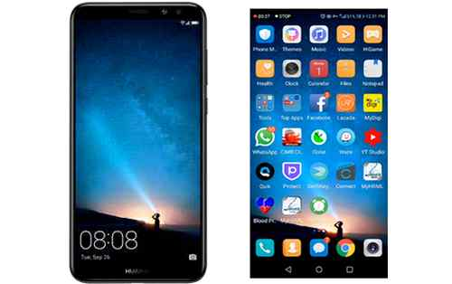 recording screen Huawei Nova 2i dan 3i