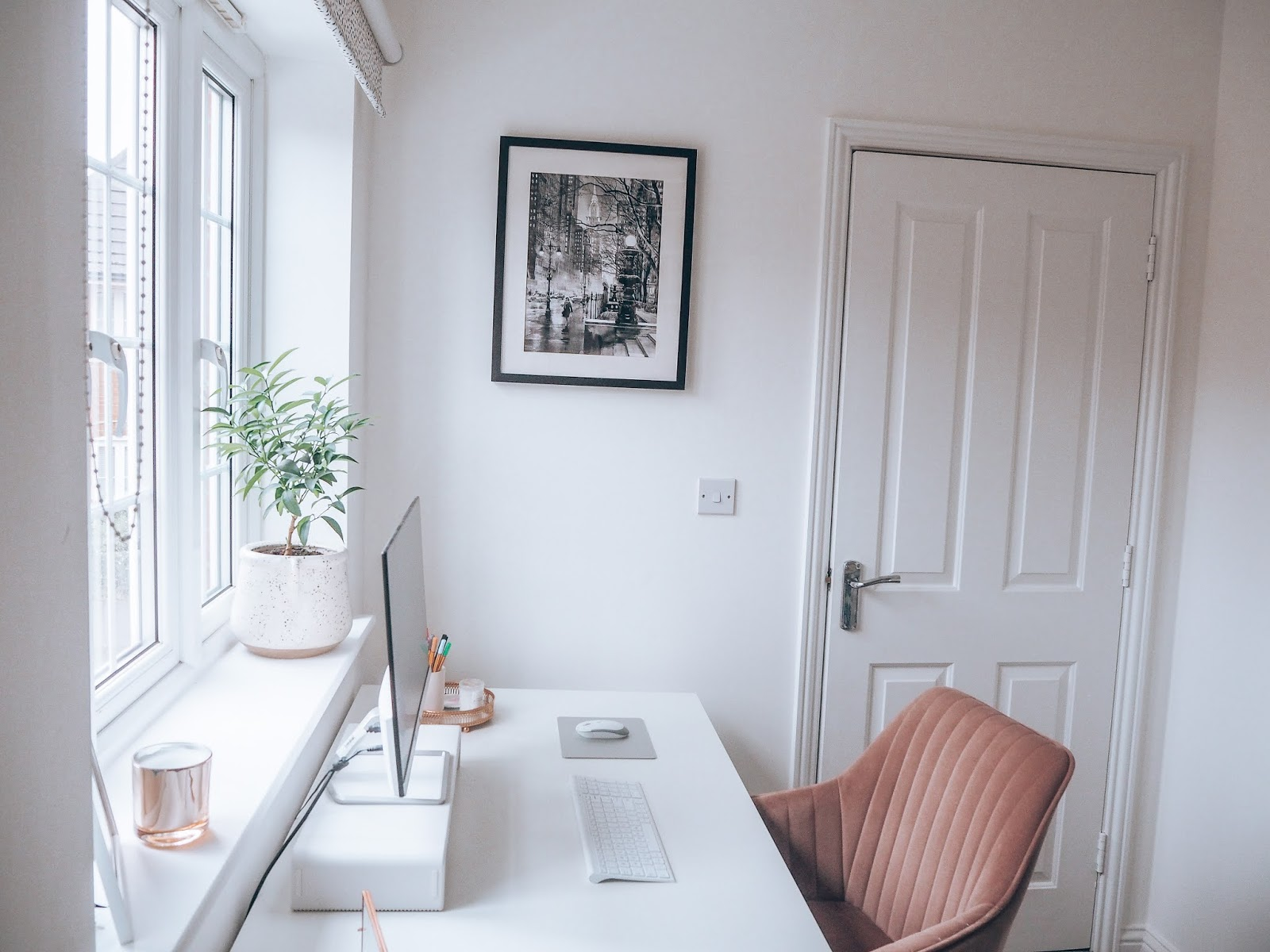Creating an office space at home