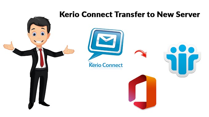 Kerio Connect Transfer to New Server by Maintaining Folder Structure